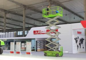Max.Lifting height 12m man lift elevating work platform 320kg capacity Manufactures