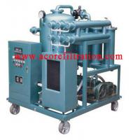 VLF Waste Industrial Lubricating Oil Filtration Cleaning Machine Manufactures
