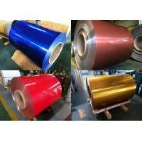 China Alloy 3003 Coated Aluminum Coil 38μm Max Coating Thickness For Lamination Sheet on sale