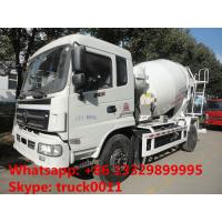 best quality factory sale 6*4 Dongfeng 5- cubic meters concrete mixer truck, dongfeng 6m3 concrete mixer truck Manufactures