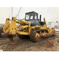 10M3 Blade Capacity Second Hand Bulldozer Shantui SD32 14.01L Fuel Consume Manufactures