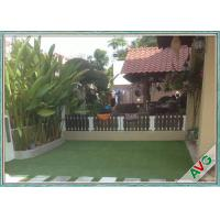 Outdoor Sports Flooring Playground Synthetic Grass / Safety Artificial Turf For Gardens Manufactures