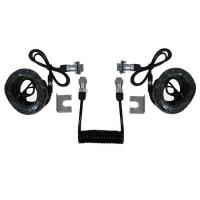 7 Pin Trailer Curly Backup Camera Cable , Video Audio Spring Coiled Electrical Wire Manufactures