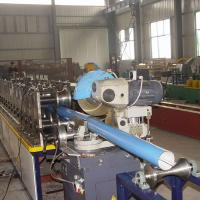 410 mm Rain Gutter Making Machine High Efficiency Gutter Roll Forming Machine Manufactures