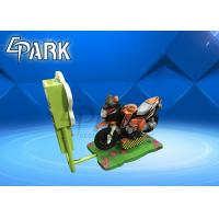 Fashion Kiddy Ride Machine , Amusement Video Driving Coin Operated Motorcycle Ride Manufactures