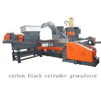 Buy cheap Carbon Black Single Twin Screw Two Stage Extruder Granulator Making Machine from wholesalers