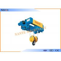 SHA-XD Electric Wire Rope Monorail Hoist Trolley I Beam Workstation Steel Manufactures