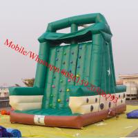 Inflatable rock climbing wall for sale Manufactures