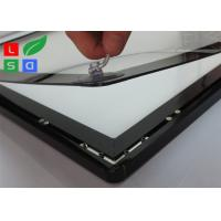 Quality Ipad Style LED Magnetic Light Box Single Sided 2800 LUX Brightness For Wall Graphic Display for sale