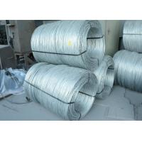 ASTM A 641 / A 641 M Iron Electro Galvanized Wire Q195 Q235 SAE1008 SAE1050 SAE1060 Manufactures