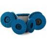 Polishing 180 Grit Mini Flap Disc On Wood , Roloc 3 Inch Flap Disc 50mm 75mm Manufactures