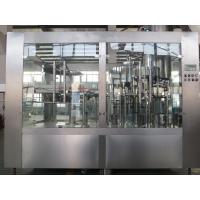 China Gravity Monoblock 3 In 1 Filling Machine , Pet Bottle Filling And Capping Machine on sale