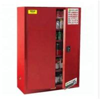 Durable Paint Storage Cabinets With Double Decked Fire Resistant Steel Plate Structure Manufactures