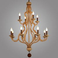 Buy cheap Vintage wood chandelier for industrial home decoration (WH-CI-66) from wholesalers