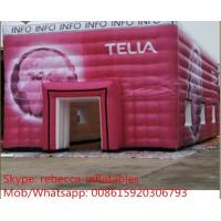 Sealed Air Inflatable tent 0.6mm PVC For Promotional Manufactures
