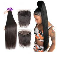 40 Inch Silky Straight Indian Natural Hair Extensions For Black Women Manufactures