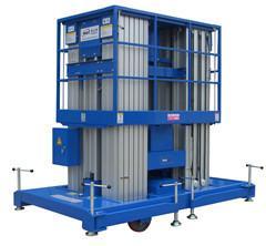 Quality 16m Multi Mast Aluminum Profile Aerial Work Platform with Motorized Wheel for sale