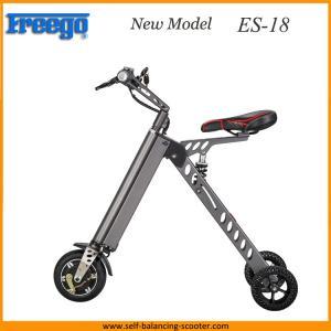Reliable Folding Electric 3 Wheel Bike , Adult Mini Folding Electric Bike Manufactures