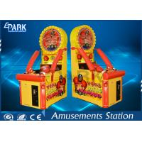 Kids Arcade Punching Machine / Punching Game Machine Steel Wooden Material Manufactures