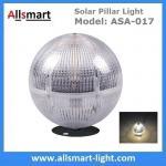 Solar Post Column lights Solar Fence Light Solar Ball Light Top Pillar Outdoor Lighting for Landscaping Decoration Manufactures