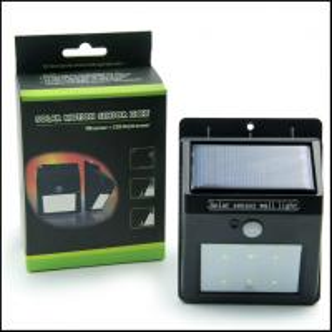 smart solar motion sensor wall light for garden & security Manufactures