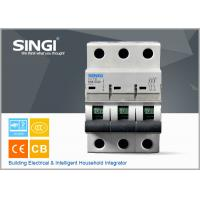 SINGI 65A 3VTB 3P 400V  CE certificate slippery container holder mini circuit breaker(MCB) manufacturer Manufactures