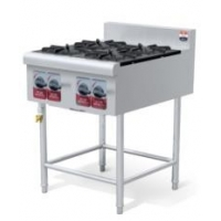 China Hotels Chinese Range Cooking Equipment YD4BZL 4 Open Burner with Station on sale