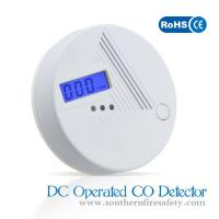 Lcd Displayer CO Alarm Detector Five Years Sensor With 9V Battey Operated Manufactures