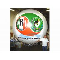 Quality Safety PVC Tarpaulin Inflatable Helium Balloon With Company Logo Waterproof for sale