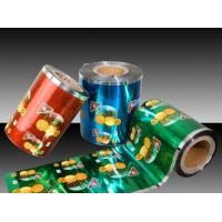 China 50g - 3000 grams Plastic Roll Film For Automatic Packaging Machine on sale