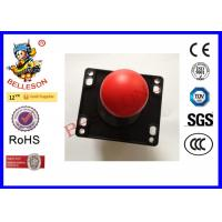 33MM Red Round Arcade Game 8 Way Joystick ABS / Alloy Material Four Microswitches Manufactures
