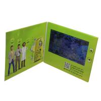 Buy cheap 128MB - 8G Memory LCD Video Card , Video Brochure Card With Printed Paper Cover from wholesalers