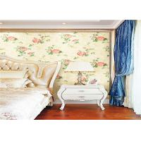 China Removing Paper Backed Vinyl Wallpapers / Wall Covering For Bedroom , ISO CE Standard on sale