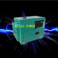 Backup Small Diesel Generators 5.0KW 72dB Noise Level , 912*532*740mm Manufactures
