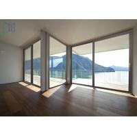 Thermal Break Aluminum Sliding Doors Air Proof External Glass Sliding Doors Manufactures
