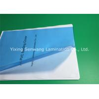High Transparency Clear Blue PVC Binding Covers A4 Size 170 Micron Manufactures