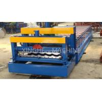Updated Tech Automatic High speed Glazed Steel Roof Tile Roll Forming Machine 828 Manufactures