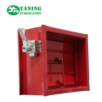 Mechanical Switch Red Aluminum Return Air Grille With Adjustable Opposed Blade Damper Manufactures