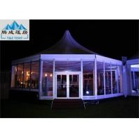 Customized Size Outdoor Party Tents / Aluminum Frame Tent Easy-Assembly Manufactures