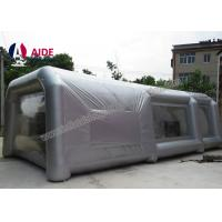 Lightweight Double Stitching Inflatable Paint Booth Portable With Ce Blower Manufactures