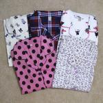 Female cotton pajamas leisurewear suit homewear for girl women Manufactures