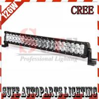 23 INCH 126W CREE LED LIGHT BAR 12V FLOOD OFFROAD LAMP FOR TRACTOR BOAT MILITARY EQUIPMENT Manufactures