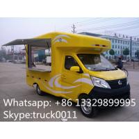 Factory direct sale mobile ice cream truck for sale with metal painting and washing basin, Chang'an mobile food truck Manufactures