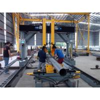 Pole Lamp Post Flange Positioning Light Pole Machine Automatic Levelling / Centering Manufactures