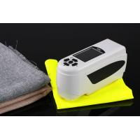Light weight cotton fabric colorimeter with color quality control software NH310 8mm and 4mm apertures camera locating Manufactures