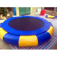 Water Trampoline Park Interesting Inflatable Water Toys Water Trampoline Aging - Resistance For Outdoor Manufactures