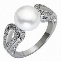 Buy cheap Silver Ring, OEM and ODM Orders Welcomed from wholesalers