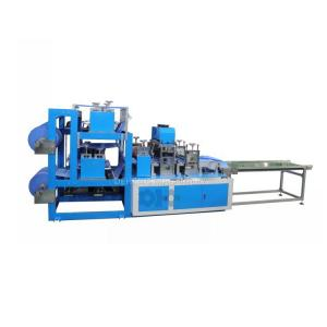 Automatic Medical Disposable SMS/PP Nonwoven Boot Shoe Cover Making Machine Manufactures
