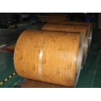 wood color prepainted Steel Coil Manufactures