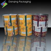 China Liquid Pouch Printed Packaging Film , Chocolate Plastic Packaging Film on sale